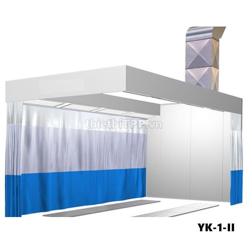 Buồng sơn nhanh, phòng chà ma tít YK-1-II