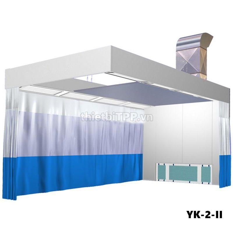 Buồng sơn nhanh, phòng chà ma tít YK-2-II