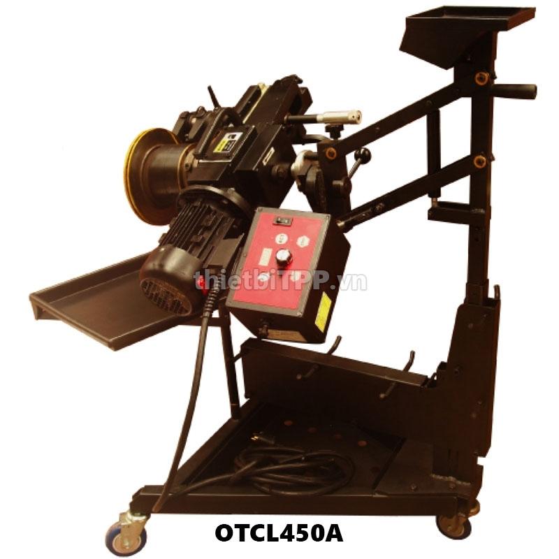 Máy láng trống, đĩa phanh trực tiếp trên xe OTCL450A