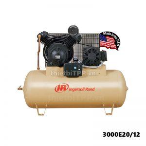Máy nén khí Ingersoll Rand 3000E20/12, máy nén khí Piston, máy nén khí 3000E20/12, máy nén khí công nghiệp, máy bơm hơi khí nén, máy nén khí không dầu