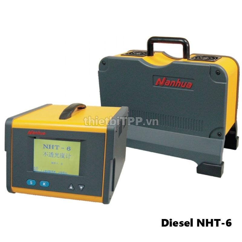 Thiết bị kiểm tra khí xả động cơ Diesel NHT-6