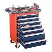 Thùng dụng cụ 7 ngăn có bánh xe TS 467P