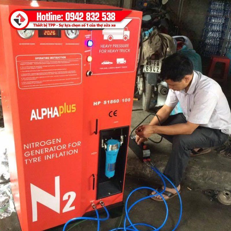 May Bom Khi Ni To Xe Tai Hang Nang Hp S1860 Alphaplus Hpmm Puli China