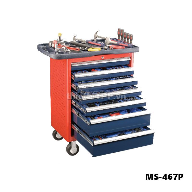 tủ đựng dụng cụ TS-467P, tủ dụng cụ sửa chữa ô tô, tủ đồ nghề 7 ngăn TS-467P, tủ đồ nghề, tủ dụng cụ đa năng, tủ dụng cụ cơ khí