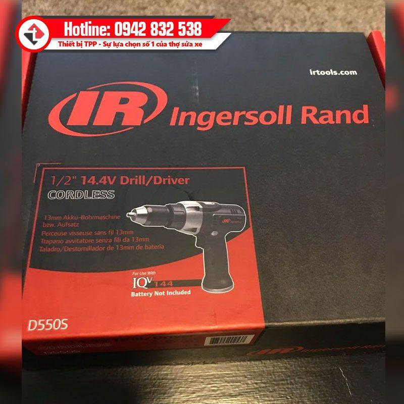May Khoan Tuong 1 2 Inch Dung Pin 14 4v Drill Driver Ingersoll Rand Usa D550s