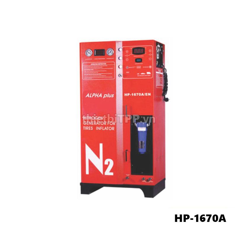 máy bơm khí ni tơ HP 1670A, máy bơm khí ni tơ tự động 1670A, may bom khi nito xe oto 1670, may bom khi nito tu dong, may bom khi nito xe du lich