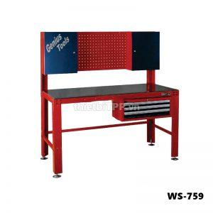 Bàn nguội cơ khí đa năng WS-759, bàn nguội cơ khí WS-759, bàn nguội gia công cơ khí, WS-759, Bàn cơ khí đa năng