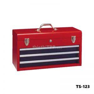 tủ dụng cụ xách tay TS-123, tủ dụng cụ, tủ đồ nghề sửa chữa ô tô, tủ dụng cụ xách tay 3 ngăn, tủ đồ nghề sửa chữa xe máy, tủ dụng cụ cơ khí 3 ngăn xách tay