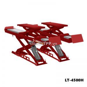 Cầu nâng cắt kéo 2 tầng LT-4500H, cầu nâng cắt kéo LT-4500H, Caầu nâng kiểu xếp 2 tầng, cầu nâng cắt kéo ô tô, cầu nâng chữ X, cầu nâng bụng LT-4500H, cầu nâng cắt kéo nâng gầm LT-4500H, cầu nâng cắt kéo nâng bụng