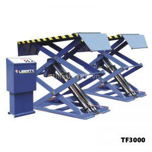Cầu nâng kiểu xếp TF3000, cầu nâng cắt kéo ô tô, cầu nâng kiểu xếp ô tô TF3000, cầu nâng cắt kéo nâng bụng ô tô