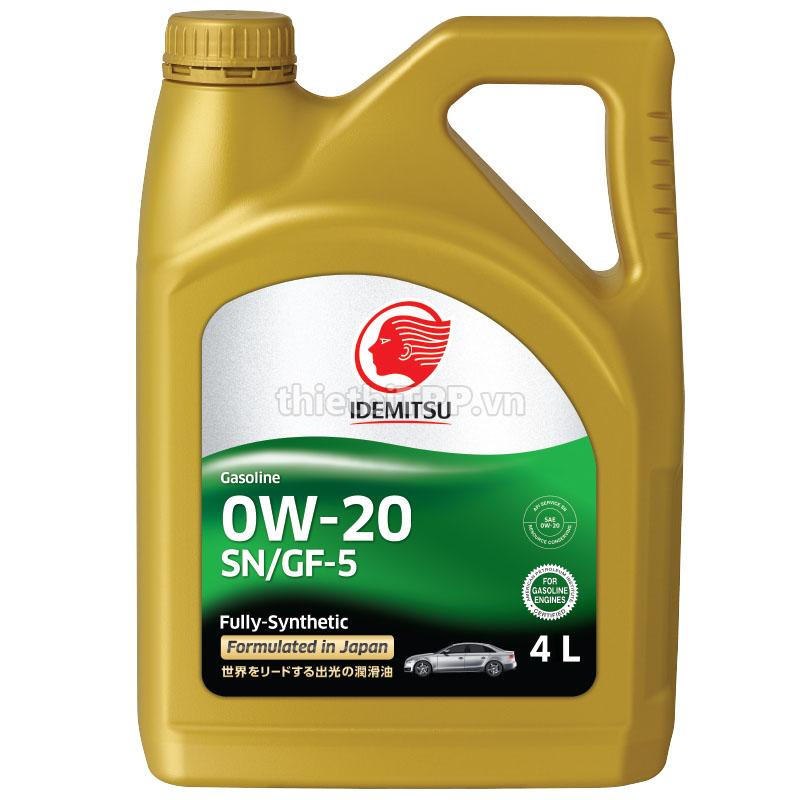 Gasoline-0W-20-SN-GF-5