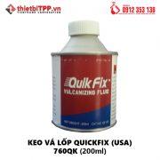 Keo vá lốp xe máy Quik Fix - Keo vá vỏ lốp USA