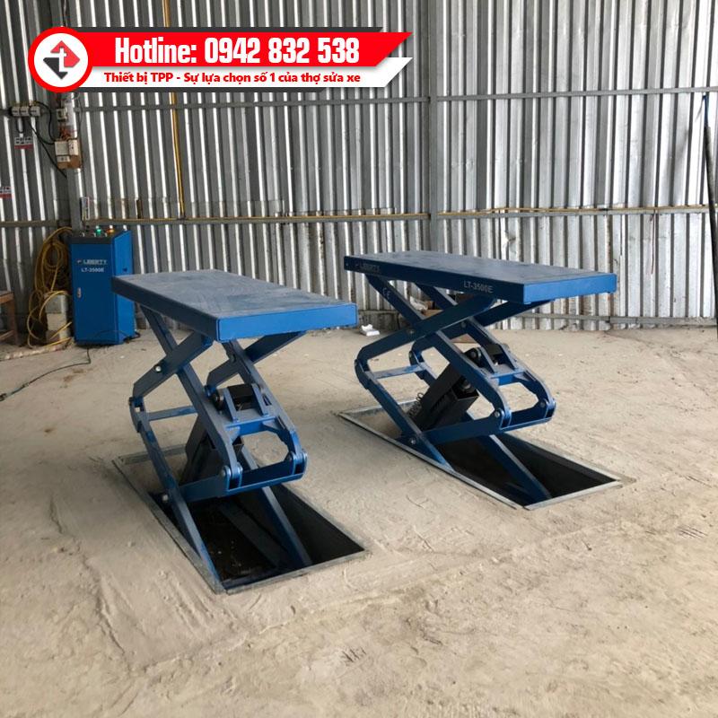 cầu nâng cắt kéo âm sàn, cầu nâng cắt kéo chìm, cầu nâng cắt kéo đặt chìm