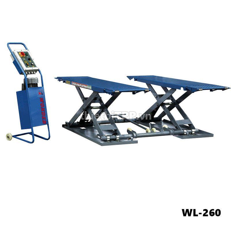 cầu nâng kiểu xếp di động WL-260, cầu nâng kiểu xếp WL-260, cầu nâng kiểu xếp ô tô, cầu nâng kiểu xếp ô tô WL-260, Cầu nâng kiểu xếp ô tô WL-260