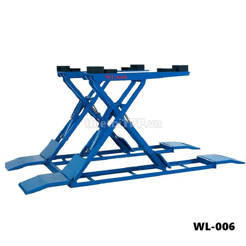 Cau Nang Kieu Xep Nang Gam Dat Noi Wonder Wl 006, Cầu nâng kiểu xếp nâng gầm WL-006, cầu nâng kiểu xếp, cầu nâng kiểu xếp nâng gầm ô tô