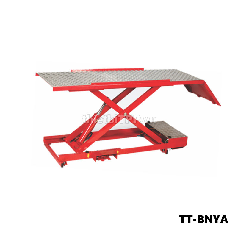bàn nâng xe máy giá rẻ, bàn nâng tiêu chuẩn yamaha, bàn nâng sử dụng điện, bàn nâng xe máy thủy lực