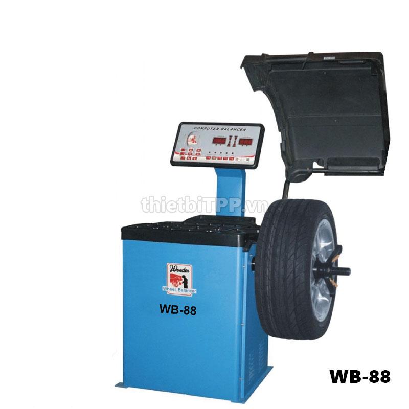 may can mam tai wan wb-88, may can bang lop dai loan wb-88, máy cân bằng động bánh xe wb-88, wonder wb-88, may can vanh xe tai wb-88, may can bang dong xe du lich wb-88
