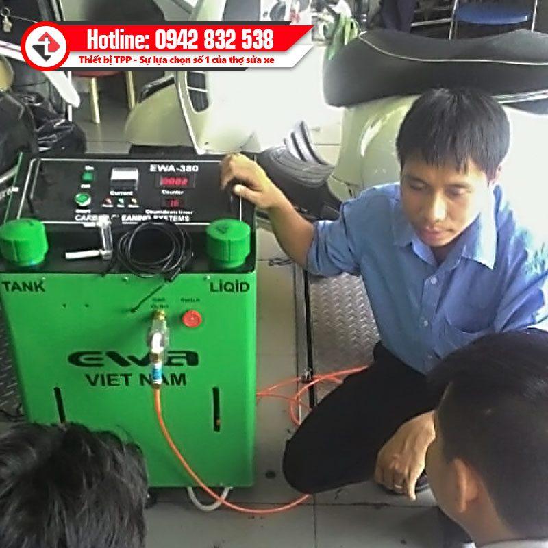 Ban Giao May Ve Sinh Buong Dot Ewa 380 Cho Khach Hang Head Yamaha
