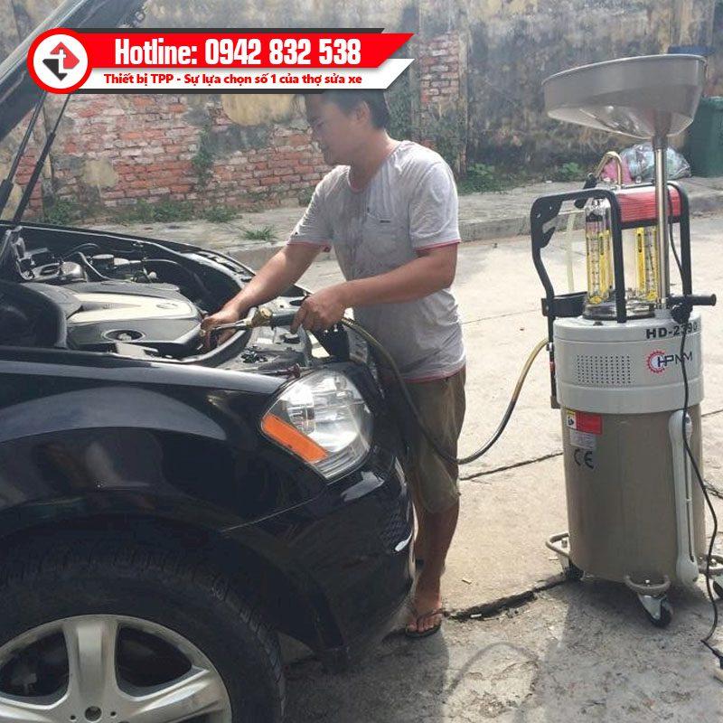 Hd 2390 May Hut Dau Thai Nhot Xe O To Chay Dien Hpmm Alphaplus Cho Xe Oto Sedan