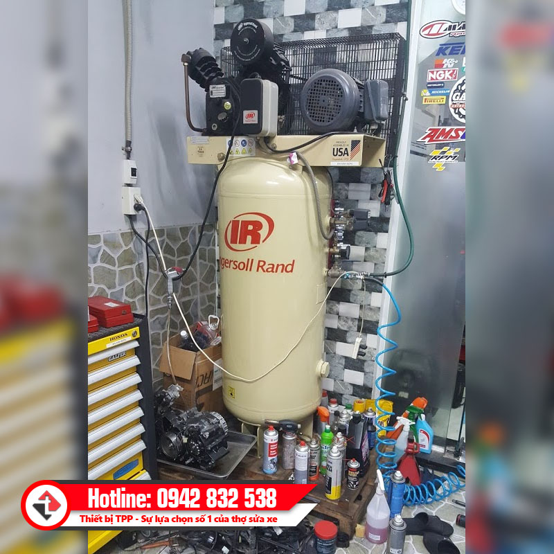 May Nen Khi Piston Dung Ingersoll Rand 15te15 P My Tai Nha Khach Hang