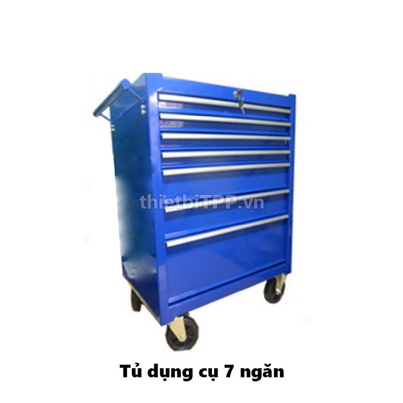 Tủ dụng cụ 7 ngăn, tủ dụng cụ cơ khí 7 ngăn, tủ đồ nghề, tủ đồ nghề 7 ngăn, tủ dụng cụ cơ khí