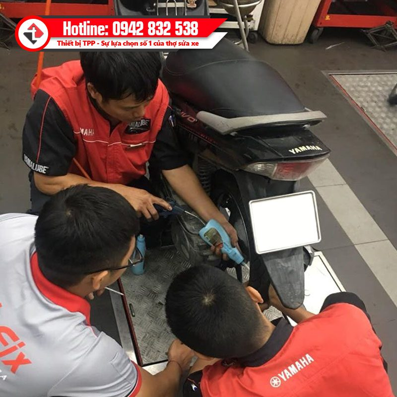 Keo Tu Va Tai Dai Ly Phu Tung Chong Dinh Xe Dap Dien Quik Fix Usa Tire Sealant