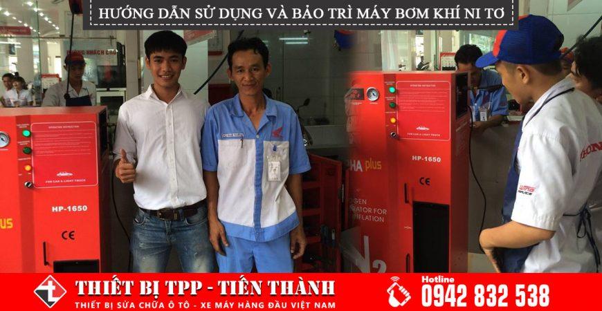 Huong Dan Su Dung Bao Tri May Bom Khi Nito N2 Alpha Plus Hp 1650