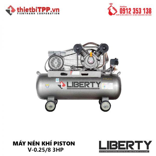 Máy nén khí Piston V-0.25/8, máy nén khí công nghiệp, máy bơm hơi khí nén, máy nén khí, máy nén khí piston, Máy nén khí V-0.25/8