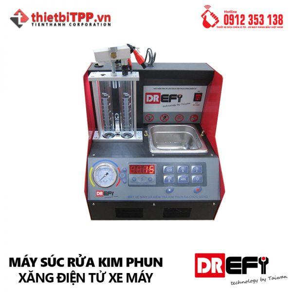 Máy súc rửa kim phun xăng fi xe máy DREFI