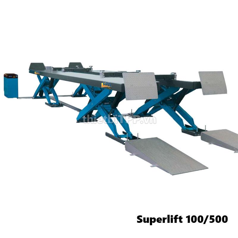 Cau Nang Cat Keo Xe Tai Hpa Faip Super Lift 100 500 Italy Ponte Camion