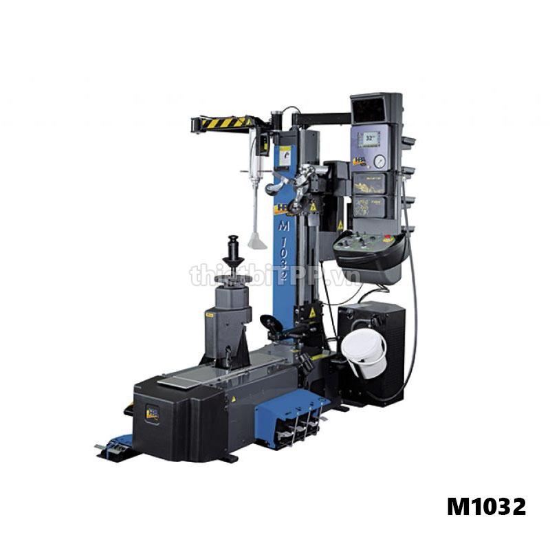 máy tháo vỏ tự động m1032, may thao vo xe m1032, may ra vao lop oto hpa m1032, hpa m1032 italy, may ra vo xe m1032, may ra vao vo xe tai m1032