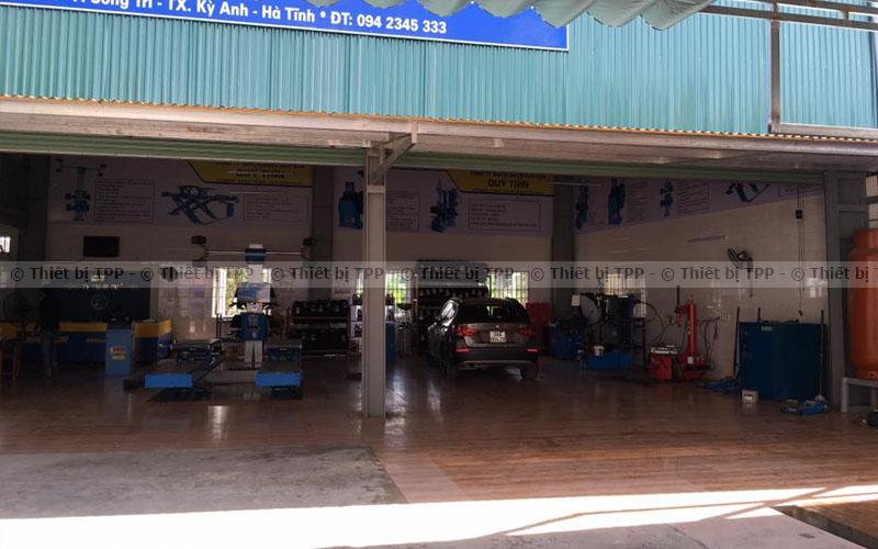 Mo Hinh Tram Bao Tri Bao Duong O To Lop Xe Chuyen Nghiep