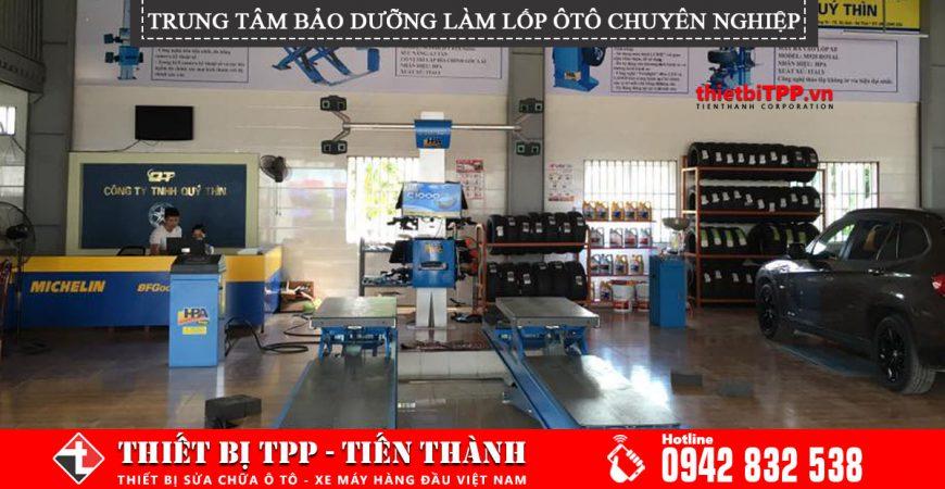 Mo Trung Tam Bao Duong Xe O To Lop Chuyen Nghiep