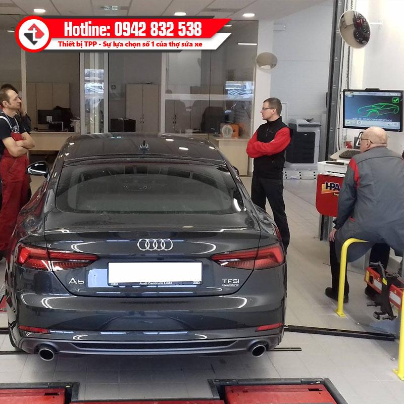 Icheck Tai Showroom Dich Vu Ky Thuoc Cua Tap Doan Oto Audi Hpa Italy