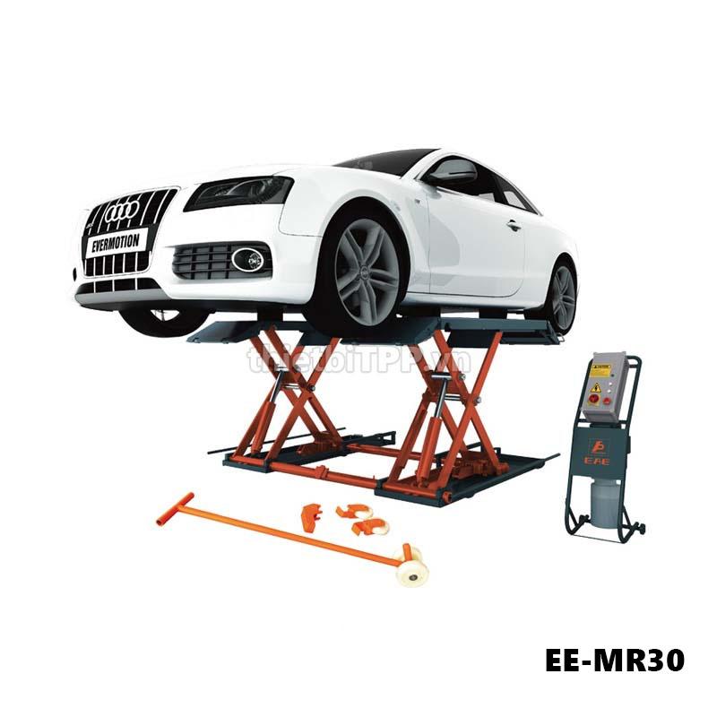 Cau Nang Cat Keo Nang Gam Bung Oto Ee Mr30 3 Tan, Cầu nâng cắt kéo nâng gầm EE-MR30, Cầu nâng cắt kéo EE-MR30, cầu nâng cắt kéo xe ô tô
