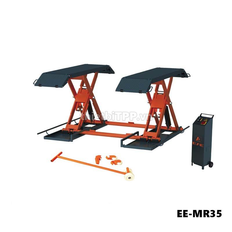 Cau Nang Kieu Xep Nang Gam Bung Ee Mr35 3 5 Tan, Cầu nâng cắt kéo nâng gầm EE-MR35, cầu nâng cắt kéo EE-MR35, cầu nâng cắt kéo nâng gầm xe ô tô EE-MR35, cầu nâng cắt kéo xe ô tô