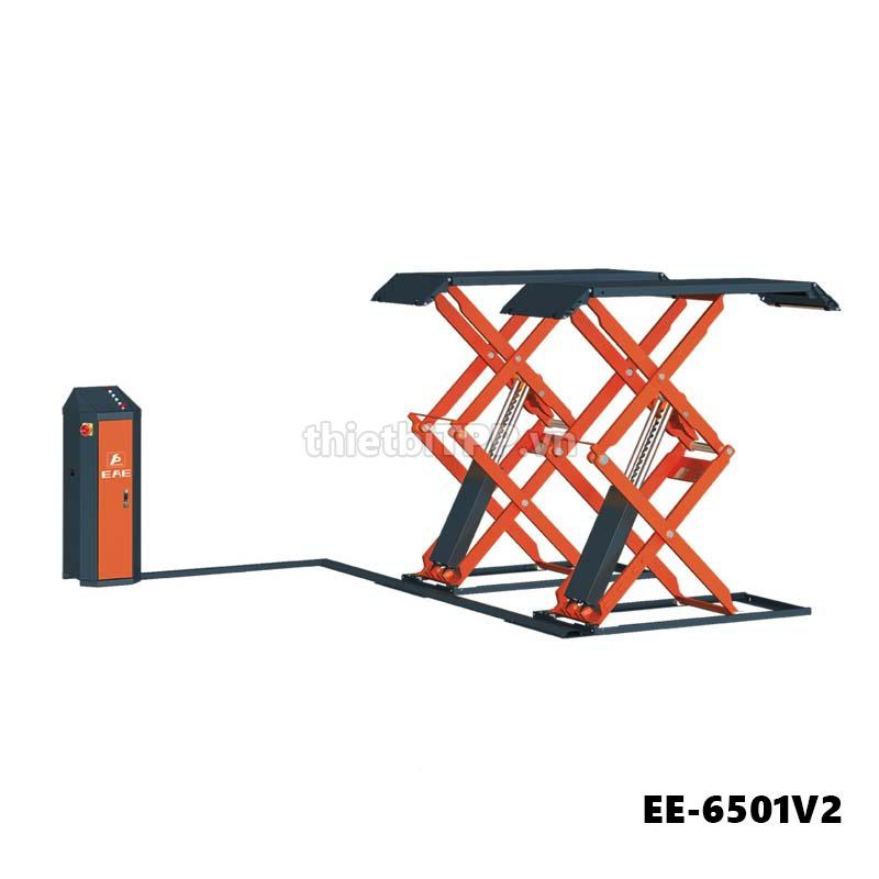 Cau Nang Kieu Xep Nang Gam Bung Xe Ee 6501v2 3 Tan, cầu nâng kiểu xếp nâng gầm EE-6501V2, cầu nâng kiểu xếp di động, cầu nâng kiểu xếp ô tô