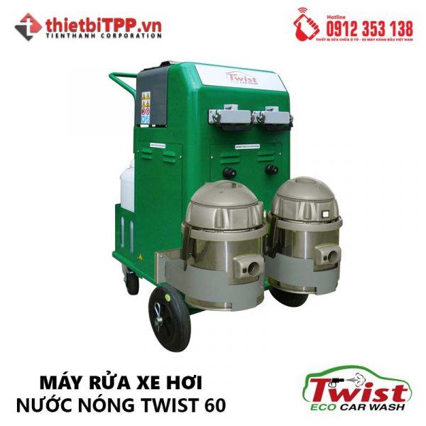máy rửa xe nước nóng, máy rửa xe bằng hơi nước nóng, máy rửa xe nơi nước nóng Twist 60, máy rửa xe hơi nước nóng