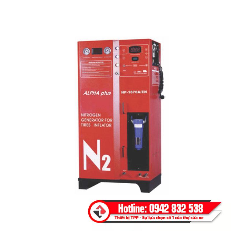 máy bơm khí nitơ 1670, máy nạp khí ni tơ 1670, may bom khi nito xe con 1670, may bom khi nito xe du lich 1670, may nap khi nito xe tai