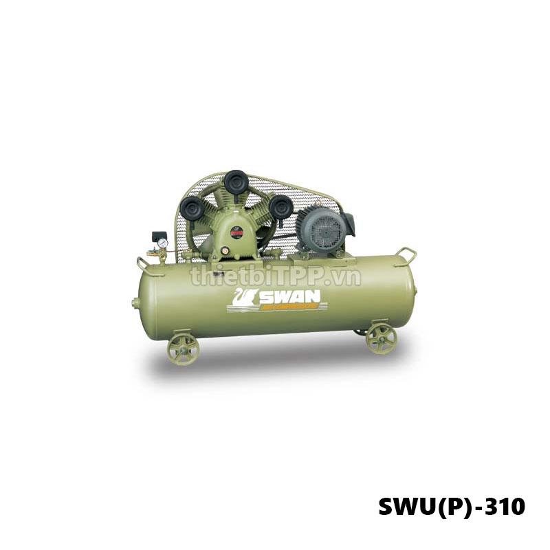 máy nén khí piston swup(P)-310, máy nén khí công nghiệp, bình bơm hơi khí nén, máy nén khí swan, máy nén khí giá rẻ