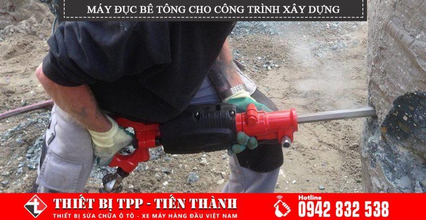 May Duc Be Tong Cho Cong Trinh Xay Dung
