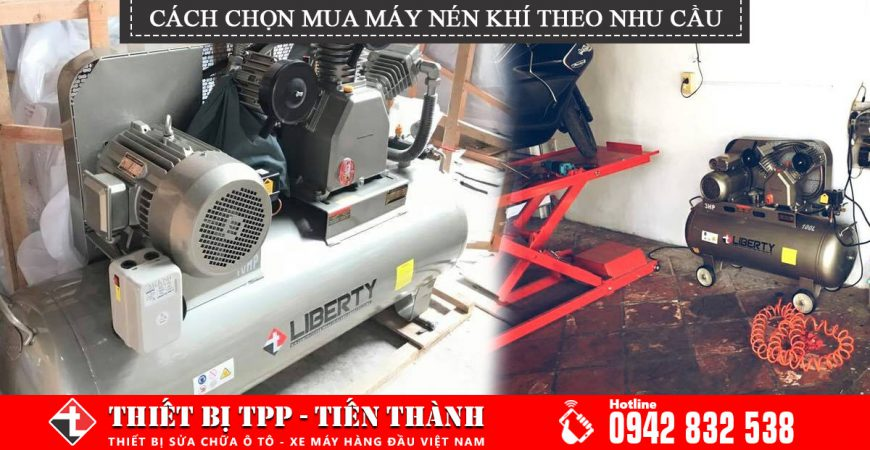 Cach Chon Mua May Nen Khi Theo Nhu Cau Su Dung