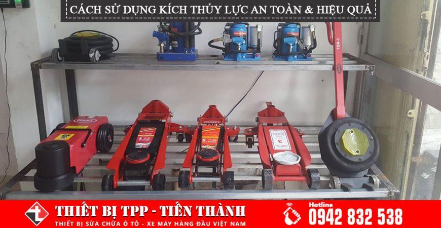 Cach Su Dung Kich Thuy Luc An Toan Va Hieu Qua