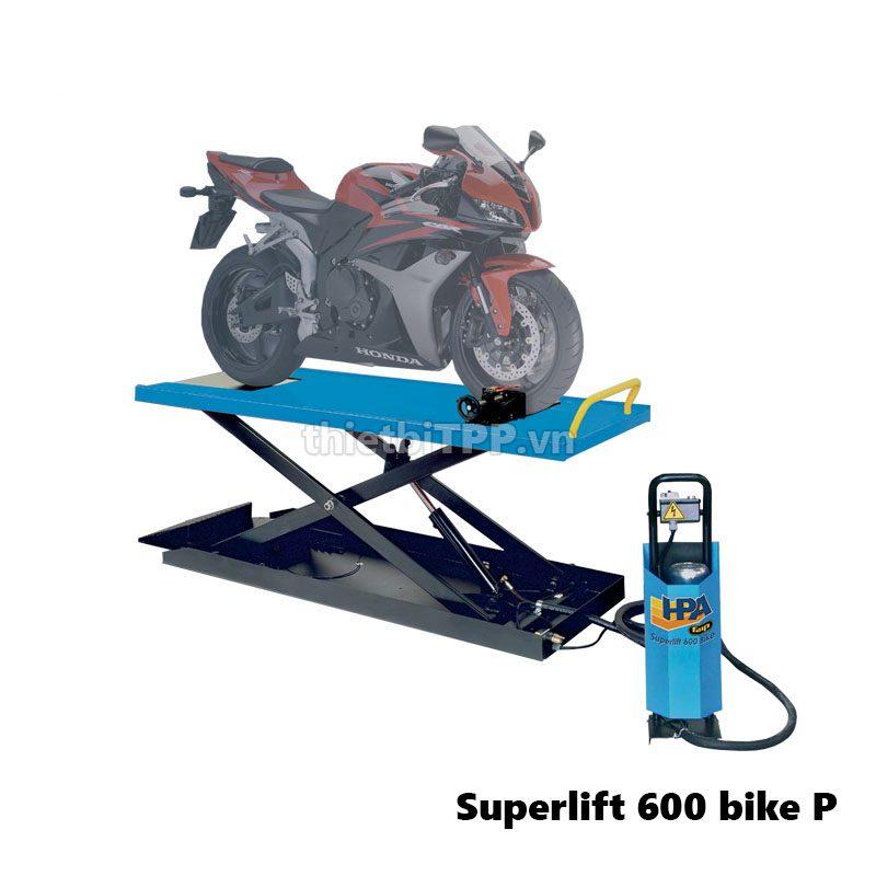 HPA SUPERLIFT 600 BIKE, bàn nâng sửa chữa, bàn nâng xe máy thủy lực, bàn nâng xe mô tô, Bàn nâng mô tô HPA Superlift 600 Bike P, bàn nâng sửa chữa xe máy, bàn nâng mô tô