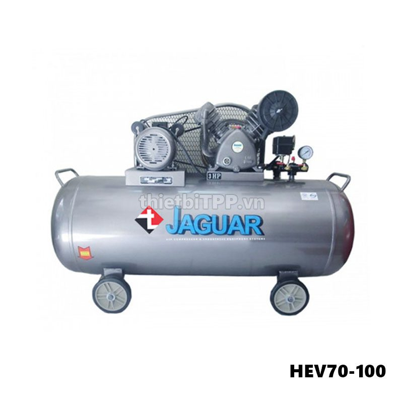 May Nen Khi 2 Cap 3hp 100 Lit Jaguar Hev70 100 220v
