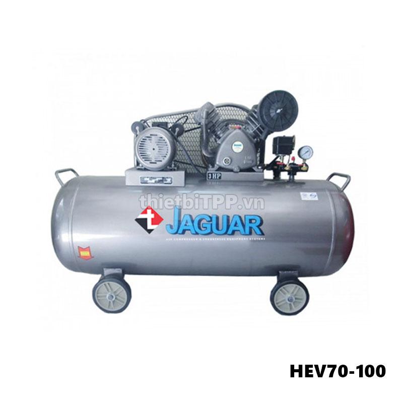máy nén khí HEV70-100, máy nén khí piston, máy nén khí, máy nén khí piston hev70-100, máy bơm hơi jaguar hev70-100
