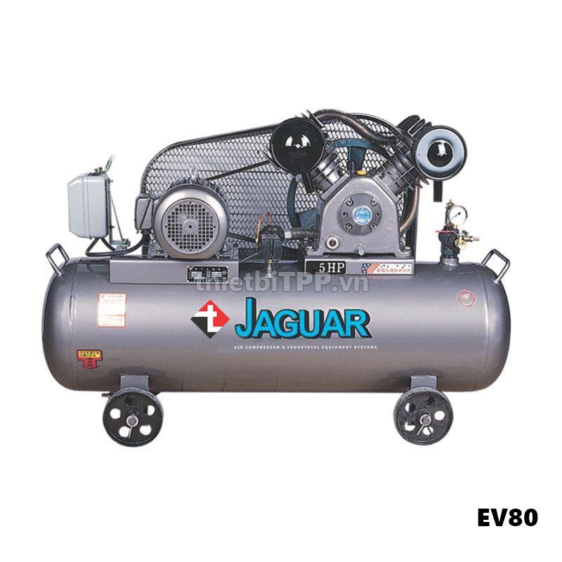 máy nén khí, máy nén khí công nghiệp, Máy nén khí Jaguar EV80, máy nén khí EV80, máy bơm hơi xe máy, máy nén khí piston, Máy bơm hơi khí nén