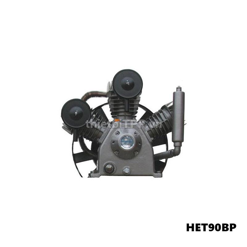 đầu máy nén khí piston HET90BP, đầu máy nén khí, đầu máy nén khí piston, đầu máy nén khí piston 2 cap, đầu máy nén khí công nghiệp