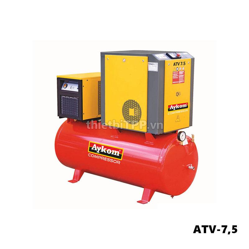 Máy nén khí Aykom ATV-7,5, máy nén khí trục vít, máy nén khí, máy nén khí trục vít Aykom ATV-7,5 Turkey
