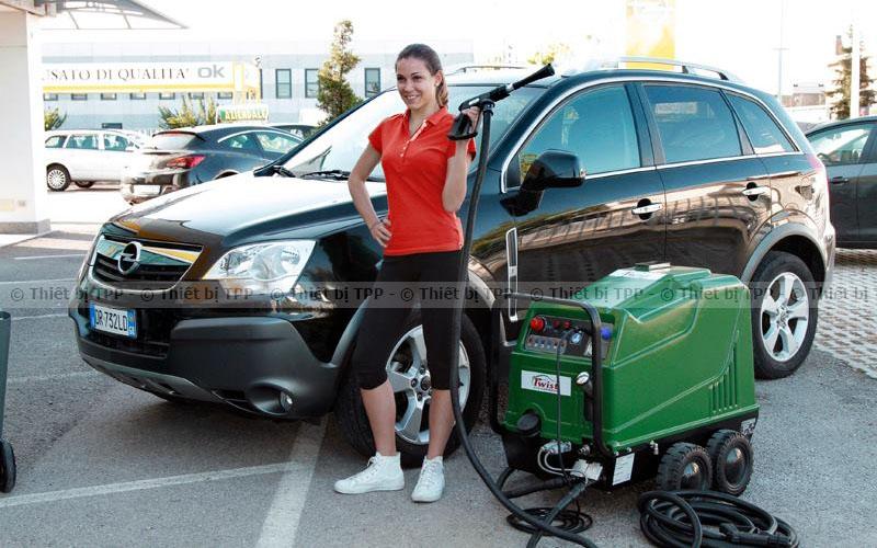 máy rửa xe nước nóng, máy rửa xe ô tô nước nóng, may rua xe nuoc nong, máy rửa xe nước nóng Twist eco car wash, có nên mua máy rửa xe nước nóng không